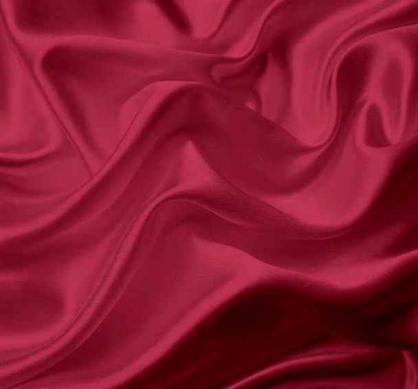 Bridal Satin Cerise
