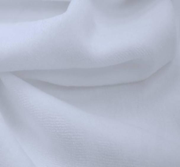 CVC Velour Solid White PFD