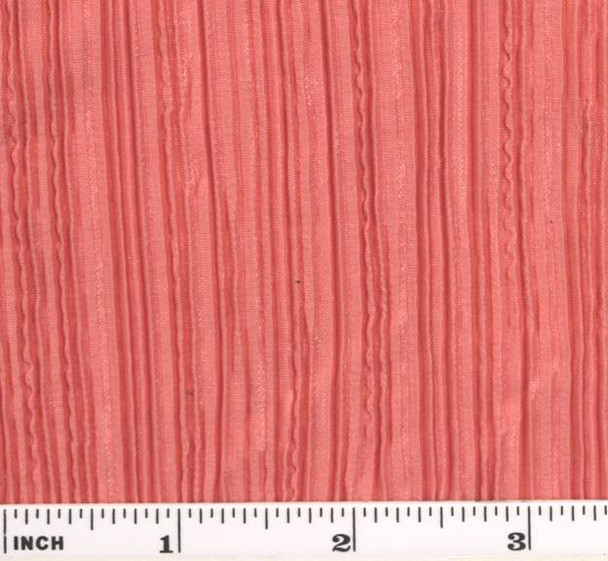 """Bodre Solid W/Aunt Pleat Peach Width 58/60"""""""