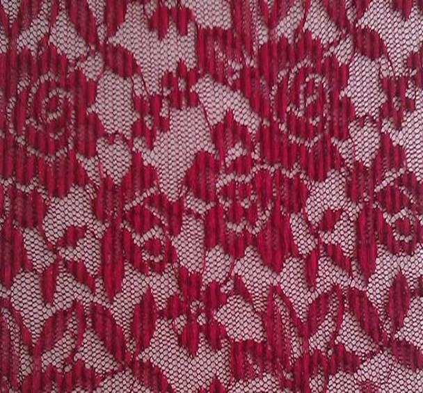 Lace Regina Red