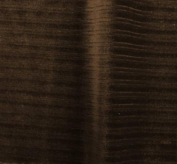 "Steam Velour Drop Needle 8x3 Brown Width 58/60"""
