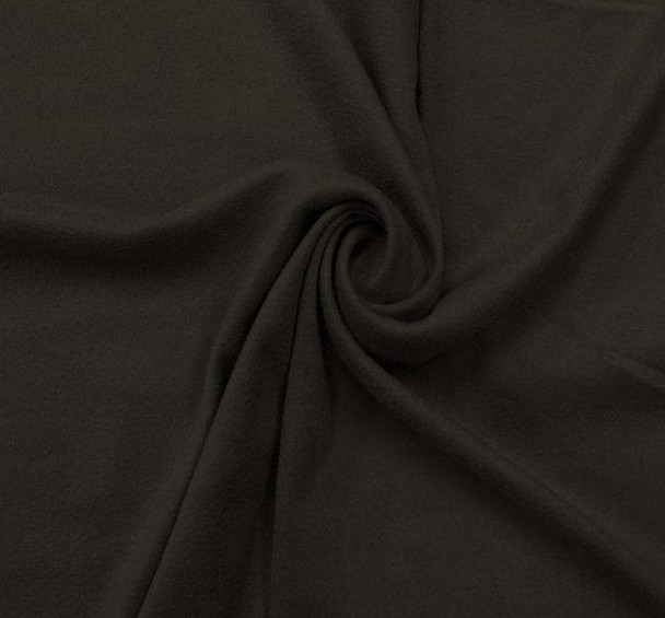 Suede Knit Solid Black