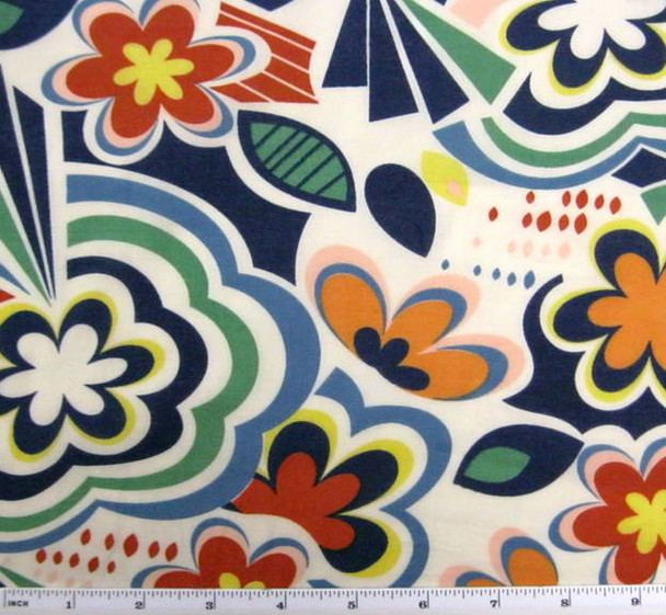 Cotton Voile Print Multicolor Print 7M097