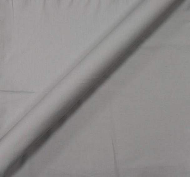 Stretch Cotton Poplin Light Grey