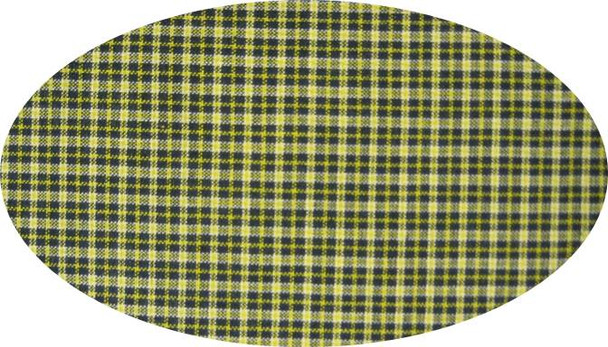 """Cotton Yarn Dyed Brushed or Flat Navy/Yellow  Width 40/42"""""""