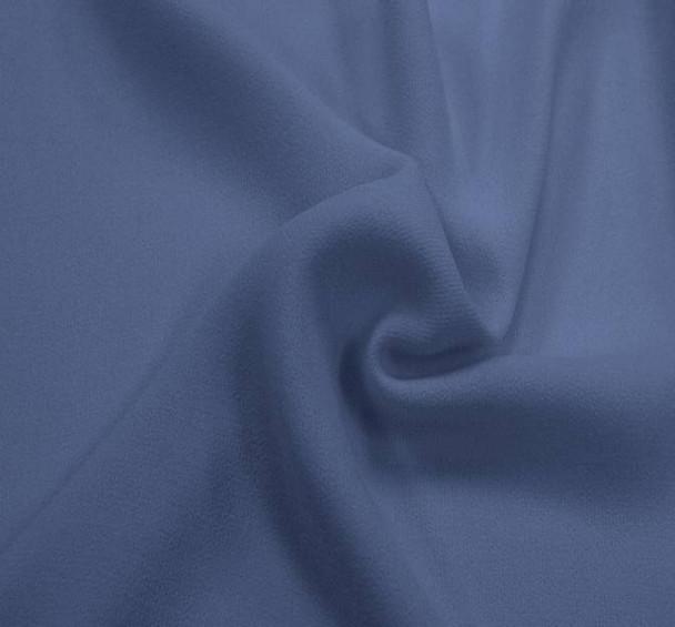"""Crepe Ellisa Denim Blue Width 58/60"""""""