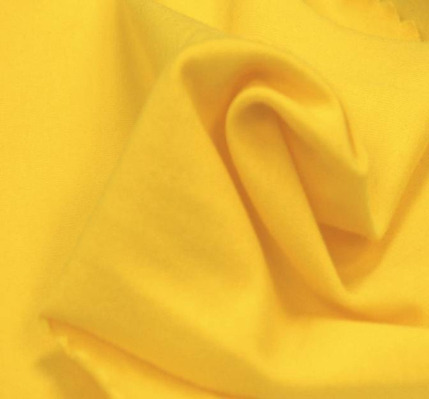 Jersey Cotton Spandex Solid Yellow