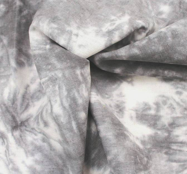Linen Rayon Tie Dyed Grey