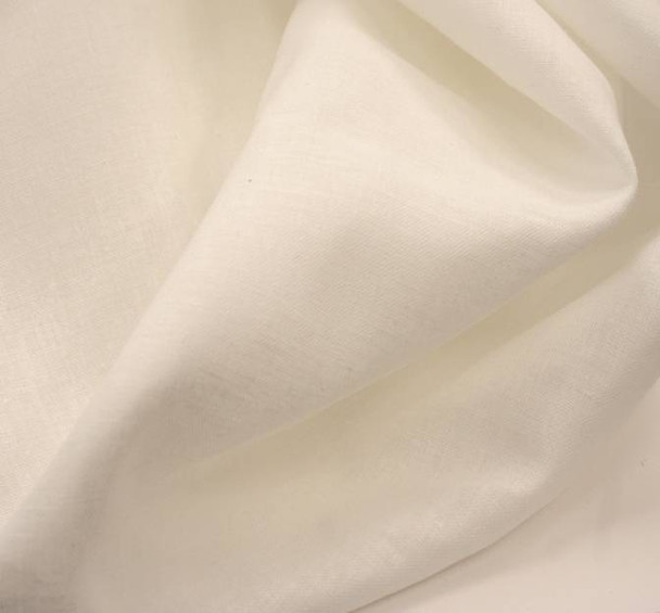 Ramie Cotton (Linen) White