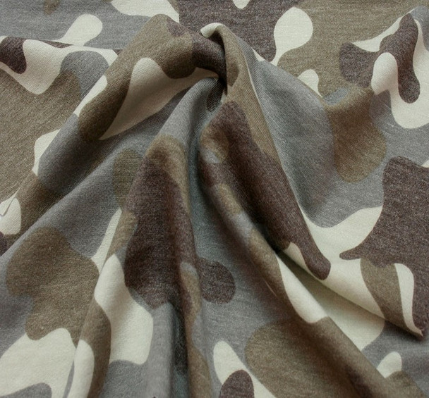 French Terry 1D1237 Taupe