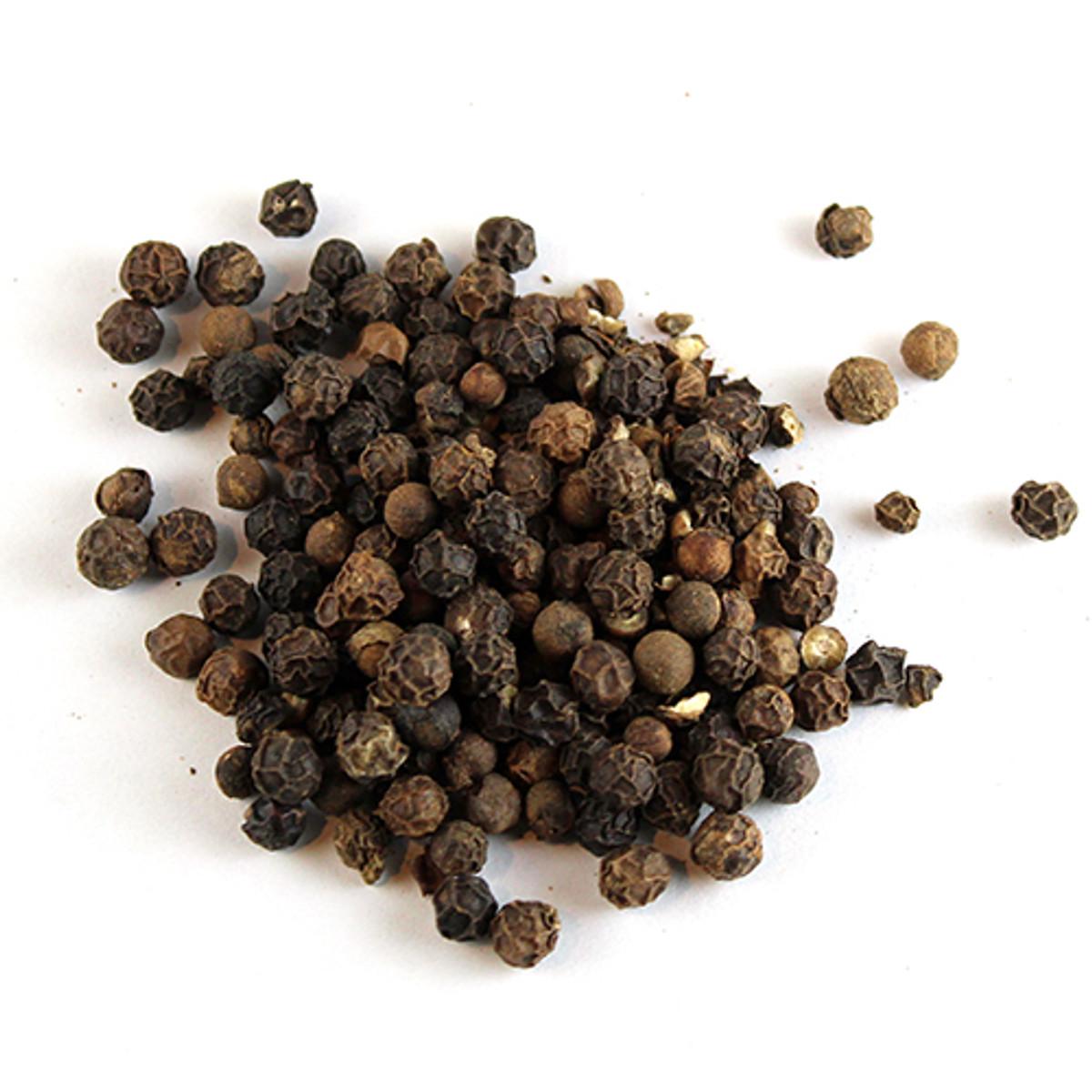 Black Tellicherry Peppercorns - Whole