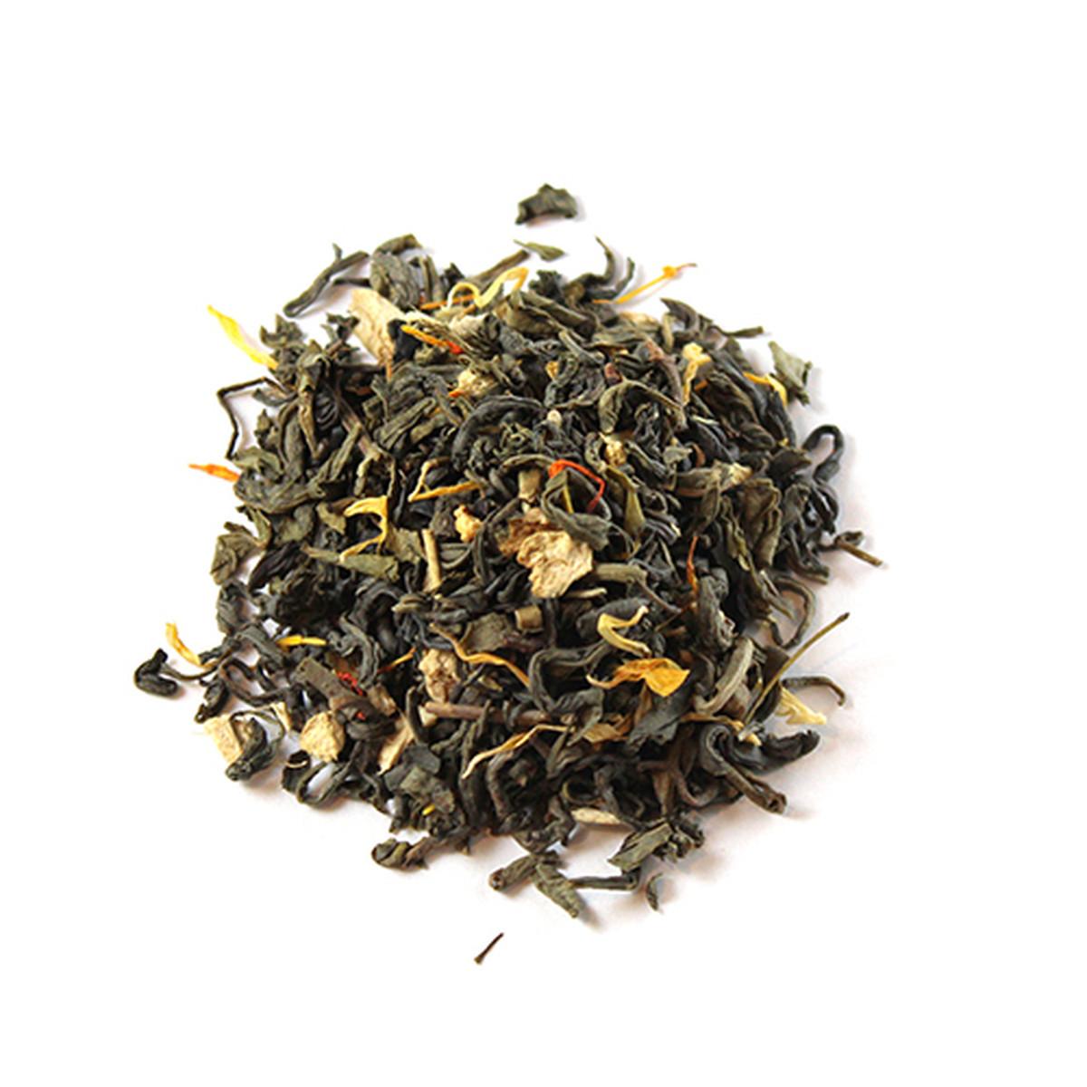 Ginger Peach Black Organic Tea