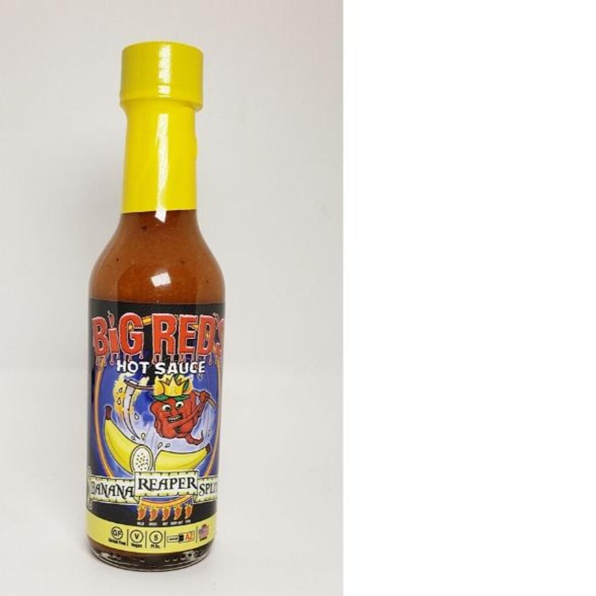 Big Red's Banana Reaper Split Hot Sauce