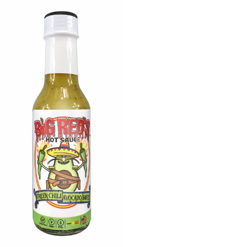 Big Red's Green Chili Avocado Sauce