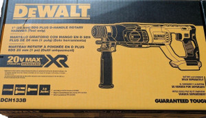 "DEWALT DCH133B 20V Brushless 1"" D-Handle Rotary Hammer Drill hammerdrill NEW"