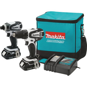 MAKITA ct200rw lithium-ion drill/driver & impact driver combo 18v Factory reconditioned