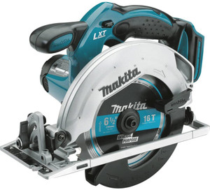 "MAKITA  XSS02Z-R 18V LXT® Lithium‑Ion Cordless 6‑1/2"" Circular Saw, Tool Only"