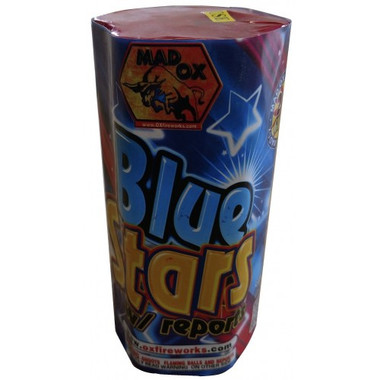 Wholesale Fireworks Blue Stars With Report Case 36/1