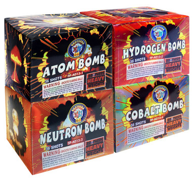Da Big Bomb Box 4-Pack Assortment