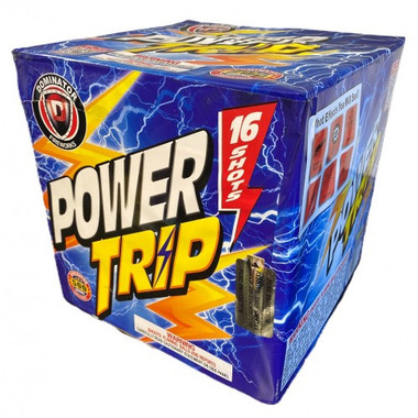 Wholesale Fireworks Power Trip Case 6/1