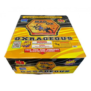 Wholesale Fireworks Oxrageous Case 3/1