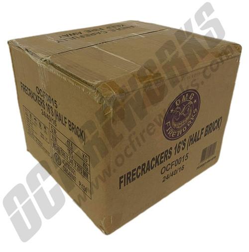 Wholesale Fireworks OMG Crackers Half Brick Case 24/40/16