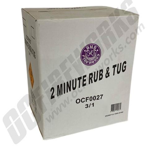 Wholesale Fireworks 2 Minute Rub & Tug Case 3/1