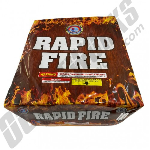 Rapid Fire 145 Shots
