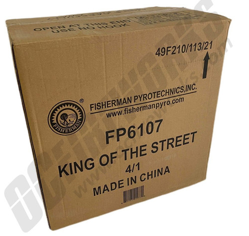 Wholesale Fireworks King Of The Streets 4/1 Case