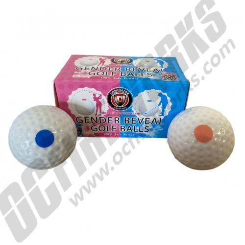 Gender Reveal Golf Balls 2pk