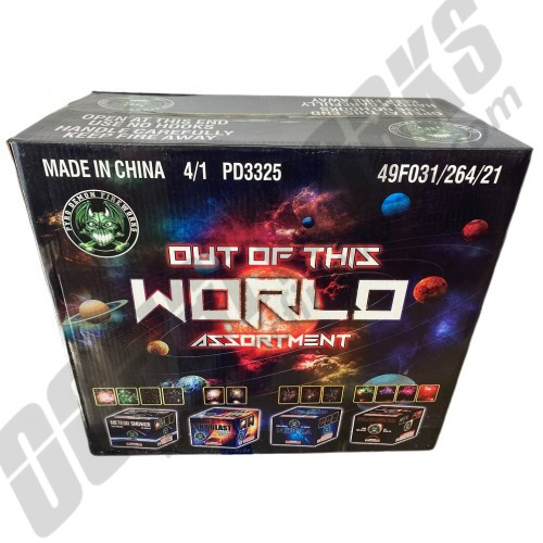 Out Of This World 4pk Assortment Case