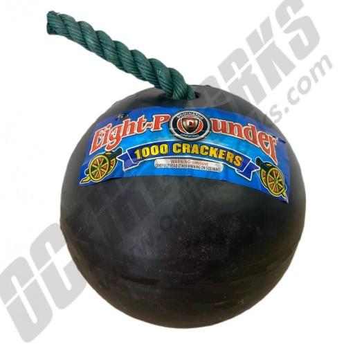 Eight Pounder Firecracker Cannonball