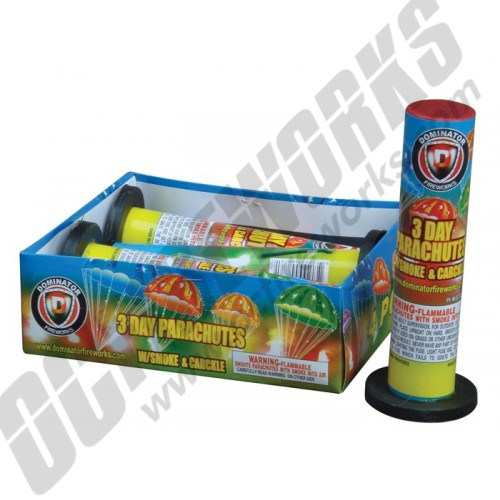 3 Day Parachute With Smoke 4-Pack