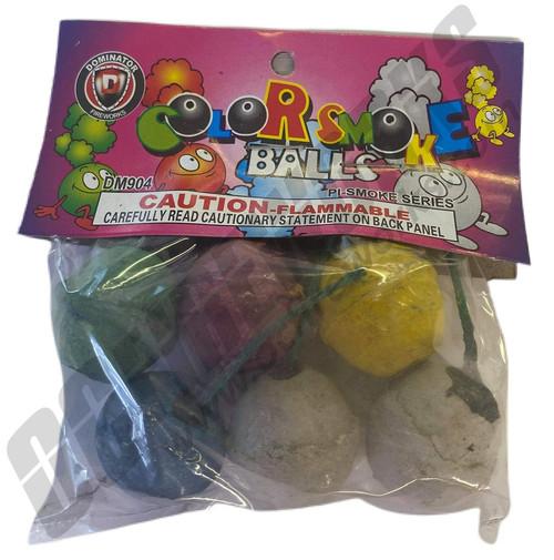 Color Smoke Balls 6/pk