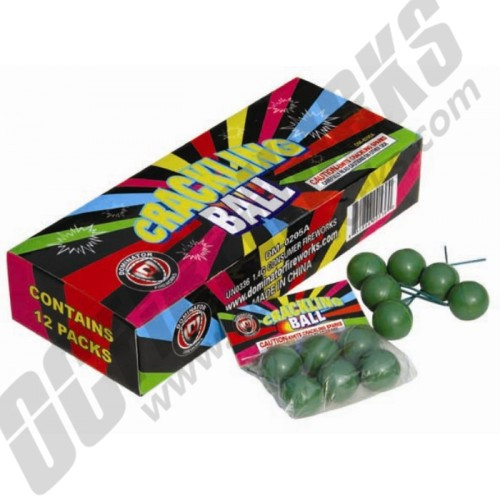Crackle Balls Display Box 12/6
