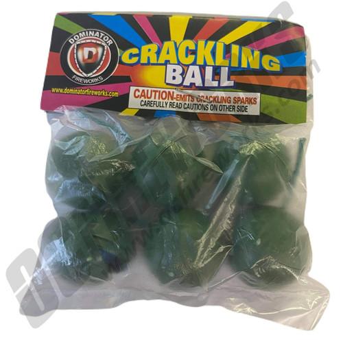 Crackle Balls Single Pack