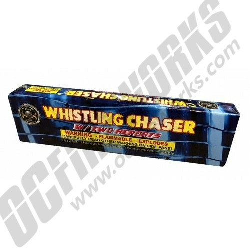 Whistling Chaser With Double Report 8/Pk
