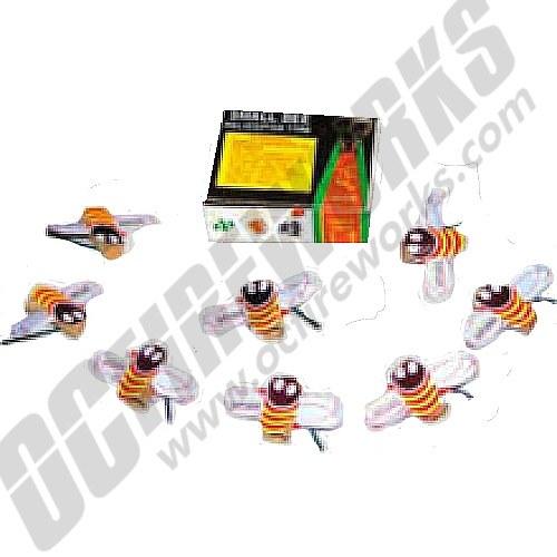 Small Bees 12/Ct