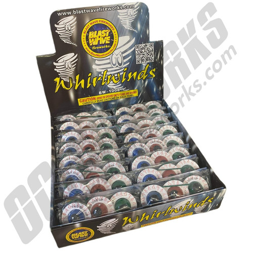 Whirlwinds Counter Display Box 32/ct