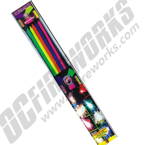 Gamma Glow Sparklers 5/Pk