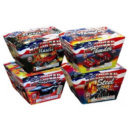 Wholesale Fireworks American Series Assortment Case 4/1
