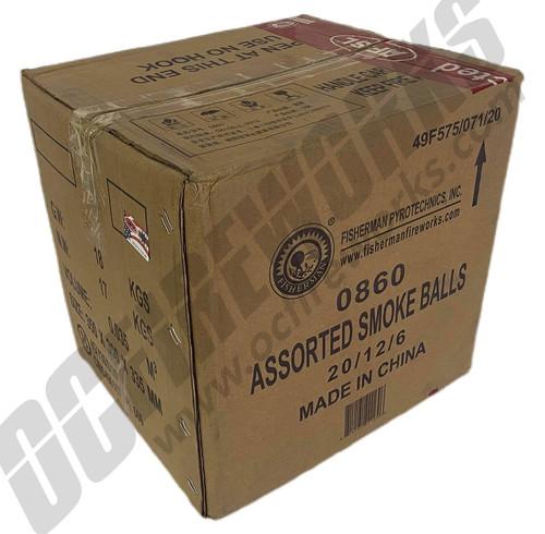 Wholesale Fireworks Color Smoke Balls Case 20/12/6