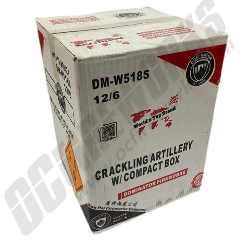 Wholesale Fireworks Crackling Artillery Shells Case 12/6