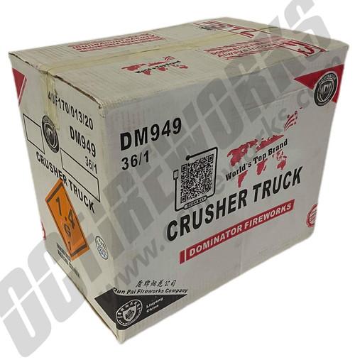 Wholesale Fireworks Crusher Truck Case 36/1