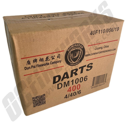 Wholesale Fireworks Darts Case 4/1
