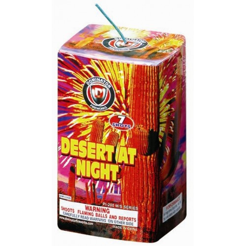 Wholesale Fireworks Desert At Night Case 40/1