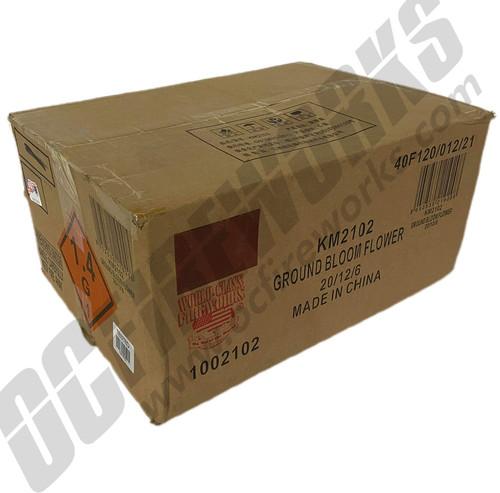 Wholesale Fireworks Ground Bloom Case 20/12/6