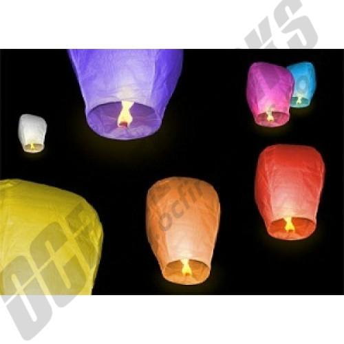 Sky Lantern Assorted Colors