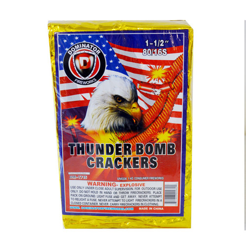 Dominator Firecrackers Full Brick 80/16s