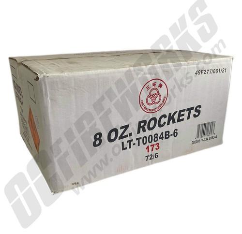 Wholesale Fireworks 8oz Premium Thunder Rocket Assortment 36/12 Case